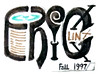 Eric Linx Fall 1997 (E L Y N X) Tags: name logo font design word liquid