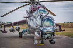 Alien (tamson66) Tags: helicopter hind mi24 alien czechairforce airshow aircraft airport