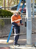 Klemzig Interchange Pedestrian Crossing Upgrade (RS 1990) Tags: klemzig businterchange adelaide southaustralia friday 19th january 2018 pedestrian crossing upgrade trafficlight signal braums new