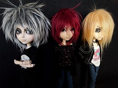 Halley Burns - Zack, Cherry y Hans (Lunalila1) Tags: dpll groove utah halley burns taeyang handmade outfit music band rock albireo sakito nightmare kain zack bradley cherry max maxxie moon hans liebermann