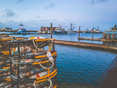 Westport Harbor (deanfuller2) Tags: crabpot westport fishing harbor dock graysharbor boat note8