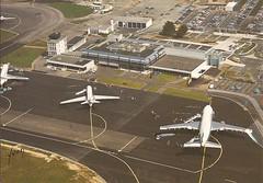 NTE01 (By Air, Land and Sea) Tags: nantes france airport postcard nantesinternationalairport nte aircraft airline airplane airinter nanteschateaubougonairport
