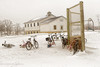 School's In (Singing Like Cicadas) Tags: 2018 january winter school amish amishcountry bicycle bikes outdoors snow children holmescounty mthope onethousandgifts 1000gifts