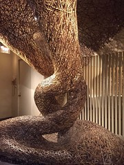 1-16 Bamboo Art at The Met (MsSusanB) Tags: tanabe chikuunsai sculpture bamboo metropolitan museumofart metmuseum japan