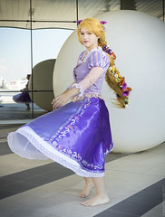 _MG_5050 (Mauro Petrolati) Tags: gumiku cosplay cosplayer romics 2017 rapunzel disney