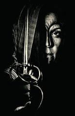 Margaret (yorgasor) Tags: shakespeare margaret henryvi costume larp sword fighter assassin queen cosplay theatre