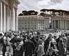 St. Peter's Square | Crowd (max tuguese) Tags: black white bianco nero blanc noir noiretblanc schwarz weis square architecture sony maxtuguese crowd vaticano mass peoples rome