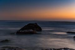 Sunrise Seascape (Merrillie) Tags: daybreak sunrise nature dawn water centralcoast morning newsouthwales rocks earlymorning nsw sea rocky ocean cavesbeach landscape waterscape coastal swansea sky seascape australia coast outdoors waves
