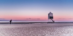 Early start to capture the sunrise (Nathan J Hammonds) Tags: sunrise lighthouse burnhamonsea somerset uk england coast sea beach photographer morning nikon d750 colour color early calm cold