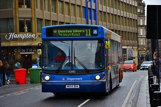 Stagecoach North East 22082 NK54BHA - Newcastle