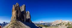 Drei Zinnen (Markus Lenz) Tags: 3zinnen berge bildformat diewelt europa fotografie gebirge italien naturlandschaft orte panorama südtirol