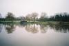 River, reflections (knautia) Tags: riveravon hightide bristol england uk february 2018 river avon film ishootfilm fuji fujicolor 100iso olympus xa2 olympusxa2 raining refelction