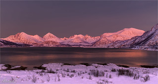 Pink glow, Norway