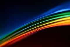 paper rainbow (mad_airbrush) Tags: 5d 5dmarkiii 100mm ef100mmf28macrousm macro paper papier color colorful bunt buntpapier light tabletop rainbow regenbogen