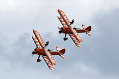 6356 Breitling wingwalkers (photozone72) Tags: aviation airshows aircraft eastbourne airshow props canon canon7dmk2 canon100400f4556lii 7dmk2 breitlingwingwalkers breitling wingwalkers stearman boeing biplane
