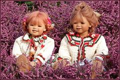 Kindergartenkinder ... Sanrike und Tivi ... (Kindergartenkinder) Tags: kindergartenkinder annette himstedt dolls sanrike tivi gruga grugapark essen