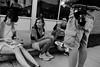 Lunch Break (Tim @ Photovisions) Tags: lunch kids people street nebraska monochrome blackandwhite czech wilber nebraskaczechs