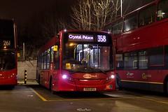Metrobus Route 284 Blind Change, Lewisham (LFaurePhotos) Tags: 745 londonbynight blindchange goaheadlondon lewisham lfaurephotos londonbus metrobus route284 route358 southeastlondon yx13afu