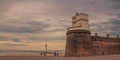 End of the day (Tony Shertila) Tags: england uk wirral britain clouds coast day europe fort lighthouse mersey merseyside newbrighton outdoor perchrock pig river sand sky birkenhead unitedkingdom gbr