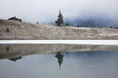 ESCAPADES - Les lac Retaud (Suisse - VD) (delphinevacelet) Tags: snow neige winter lake lac hiver lanscape paysage eau water reflet