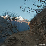 The Choquequirao trek - view from the trail thumbnail