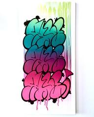 SHYE THROWUP CANVAS 2018 (SHYE131 DPC) Tags: throwie throwy throwup graffitioncanvas interiordesign thisisnotstreetart londonstreetart streetart graffitilondon londongraffiti london graffiti canvas shye131dpc shye131 shye