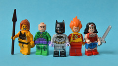 Makeover (th_squirrel) Tags: lego dc comics 76097 set remake cheetah lex luthor batman zero year firestorm wonder woman minifig minifigs minifigures minifigure