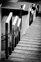 Illusion (jmiller35) Tags: illusion buildings outdoors canon liverpool abstract rails staircase blancoynegro blackwhite bw monochrome
