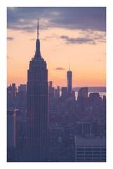 Empire State of Mind (Italian man in New York) Tags: sky sunset ny life love beautiful newyork
