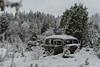 The car. (lortopalt) Tags: abandoned övergiven car bil skogsvrak