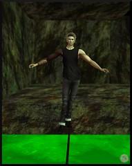 Snapshot_058 (ReenaStark) Tags: secondlife sl avatar avatars avi avis virtualreality halloween holiday holidays tightrope tightroping