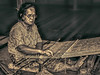 Preserving  Traditions (FotoGrazio) Tags: asian eastmalaysia kuching longhouse lostart malay malaysia malaysian sarawak waynegrazio waynesgrazio weaver woman worldphotographer art artofphotography clothingmaterial composition craft fabric fotograzio handmade indigenous painterly people phototoart phototopainting portrait portraiture sepia textile textiles texture travelphotography tribal weave weaving
