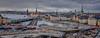 Panoramic city view of Stockholm Sweden (mbell1975) Tags: stockholm stockholmslän sweden se panoramic city view scandinavia water river sea pano vista panorama katarinahissen gondolen lift katarina gangbro elevator swedish europe scandinavian sverige suecia schweden suède svezia 瑞典 zweden skyline söderström inlet cityscape old town altstadt oldtown