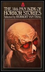 """The 14th Pan Book Of Horror Stories"" -- MACRO MONDAYS - 15.1.18 - ""My Favourite Novel (Fiction)"" (NikonShutterBug1) Tags: macro closeup nikond7100 macromondays spe smartphotoeditor tamron60mmmacro myfavouritenovelfiction"