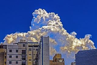 Cumulonimbus in the city