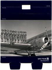 ephemera + postcard - UA Biz Amenity Kit Wrapper (Jassy-50) Tags: ephemera postcard unitedairlines united airline ua wrapper advertising vintagereprint