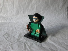 Mole Man (Harvey Elder) (ryantofflemire) Tags: lego marvel custom fantastic four villain minifigure