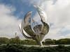 """""""Floralis Generica"""" (Denise Alvarez García) Tags: escultura moderna buenos aires argentina america do sul jardim verde lago ponto turistico cidade atração"""