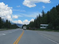 Arriving at the western boundary of Jasper National Park (on Hwy 16) (jimbob_malone) Tags: 2017 highway16 alberta