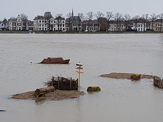 Deventer hoog water januari 2018 (6)