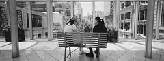 Lunch (@fotodudenz) Tags: hasselblad xpan 30mm super ultra wide angle 2018 panorama panoramic melbourne victoria australia film rangefinder central emporium