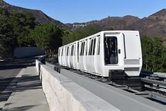 Getty Museum Train (dr_marvel) Tags: tram la ca california getty gettymuseum museum art artwork
