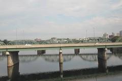 Lower Trenton Bridge and Delaware River, Trenton, New Jersey (Paul McClure DC) Tags: trenton mercercounty newjersey aug2014 railroad railway architecture historic river delawareriver scenery