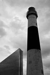 R3-047-22 (David Swift Photography) Tags: davidswiftphotography newjersey atlanticcity lighthouse historicbuildings historiclighthouses revelcasino historicpreservation 35mm film jerseyshore nikonfm2 ilfordxp2