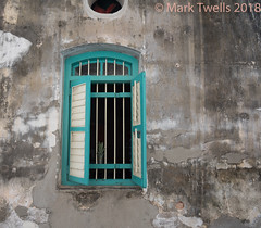 Window, Street, George Town (Mark Twells) Tags: georgetown penang malaysia my