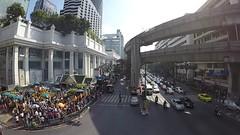 Erawan Shrine (Sarah Marston) Tags: bangkok timelapse video thailand erawanshrine traffic december 2017