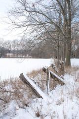 2018 Winter Snow-55 (Michael L Coyer) Tags: winter snow farm field tree pasture white barn fence ditch husbandry branch m50 clintonroad clintonrd eatonrapids tompkins hills rollinghill