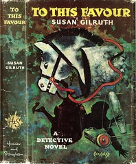 To This Favour (54mge) Tags: book dustjacket crime novel georgechrichard