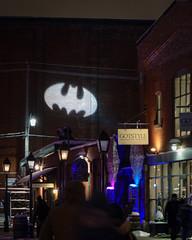Gotham 0837 (RG Rutkay) Tags: artoflight distillerydistrict torontolightfest gotham batsignal