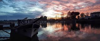Sunset sur l'Hérault �
